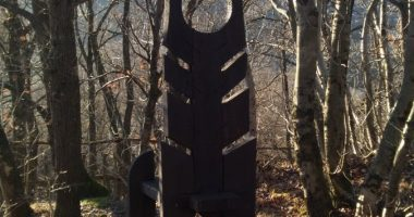 Nagy László széke, Mogyoróhegy, Visegrád